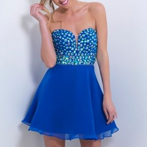 Blush Dresses - Blush Prom in Royal Blue sz6 NWOT *price firm*